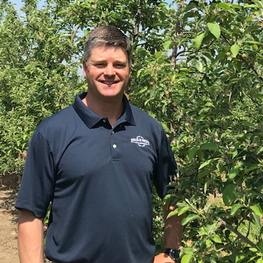 Peter Fleckenstein, general manager and partner of Beak & Skiff Orchards