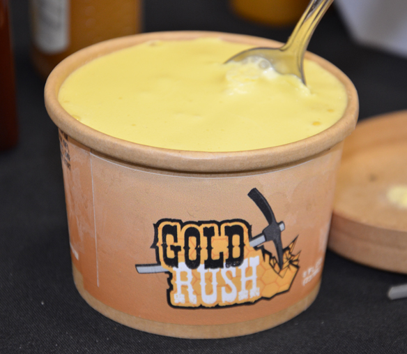 Gold Rush ice cream from Round Barn Creamery, made with a touch of honey
