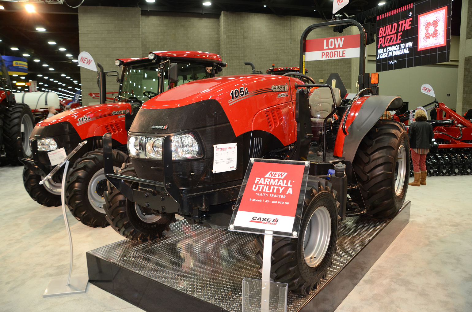 low profile version of the Farmall A launched at National Farm Machinery Show