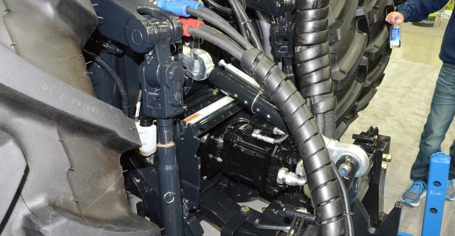 PTO hydraulic pump provides the power needed to run the new '05 Series' planters from Kinze