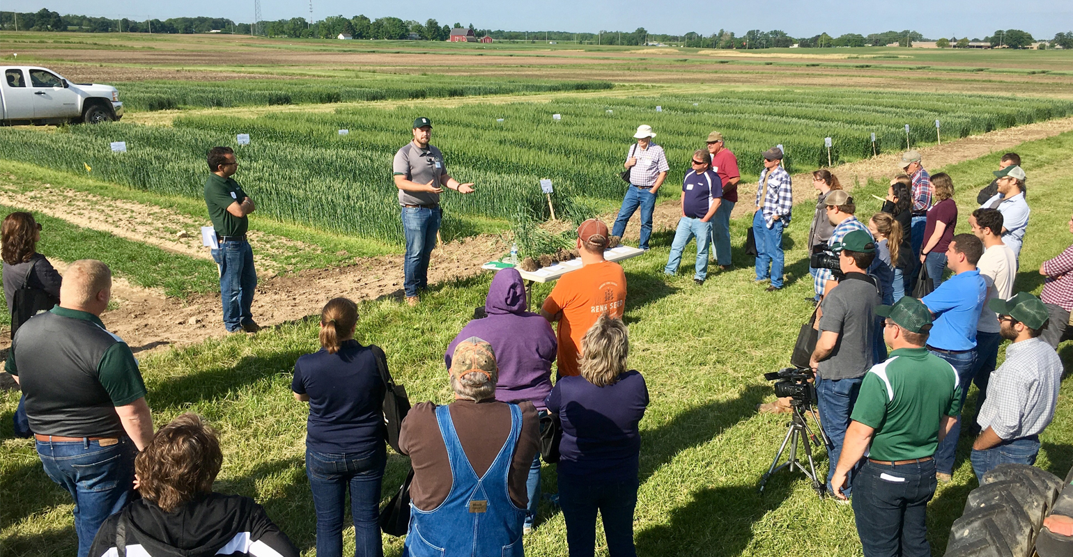 Michigan Wheat Program's summer field day at the beginning of June