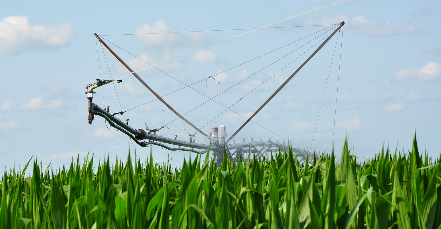 Fertigating—applying fertilizer through the irrigator—provides precise application of fertilizer when crops need it and can use it