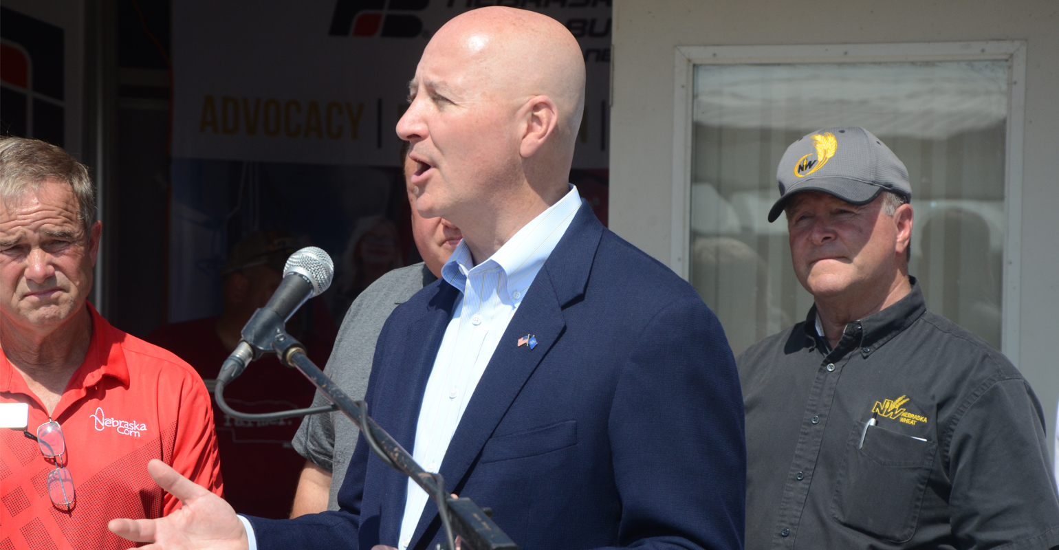 : Nebraska Gov. Pete Ricketts noted Mexico and Canada top the list of markets for ag products from Nebraska and the U.S.