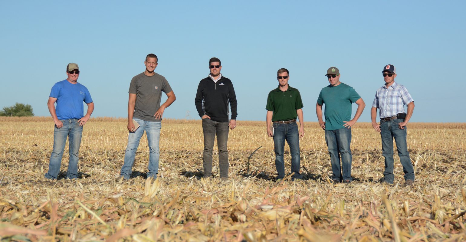 Farmers from the Midwest converged on the Farm Progress Show site near Boone, Iowa, to assess ag equipment.