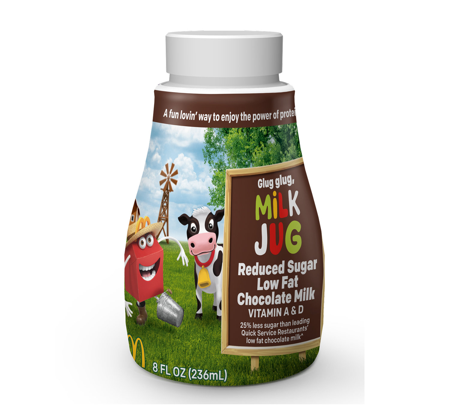 new formulation of McDonald's chocolate milk