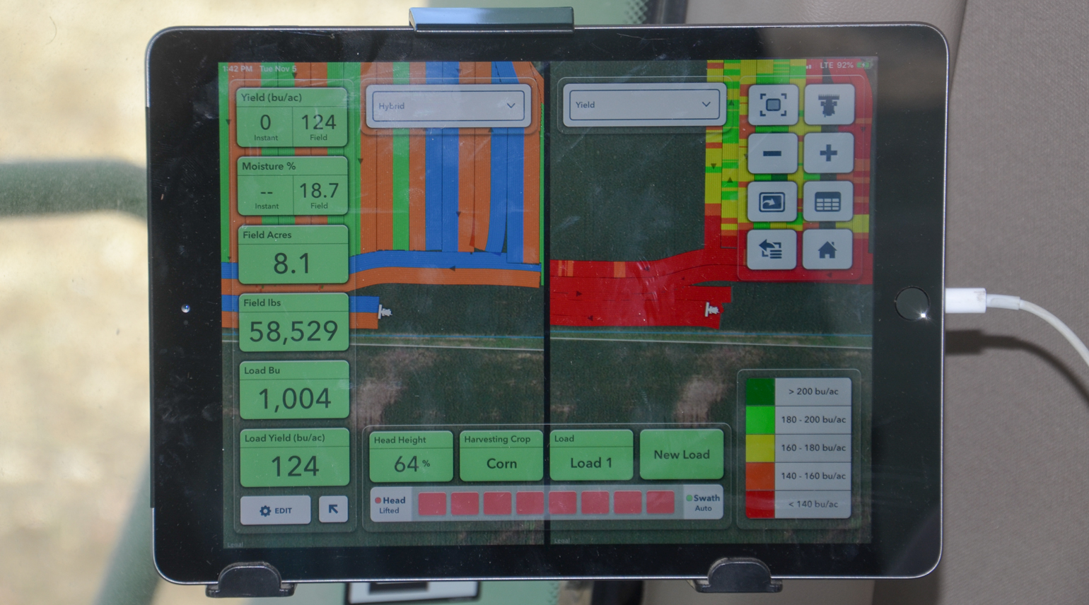 Climate FieldView on iPad