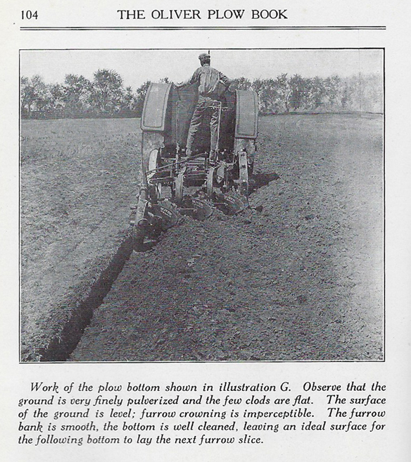 vintage photo from Oliver Plow Book