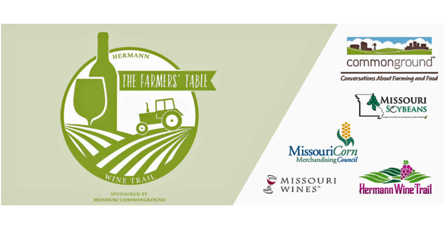 graphic of The Farmers' Table Wine Trail and sponsor logos