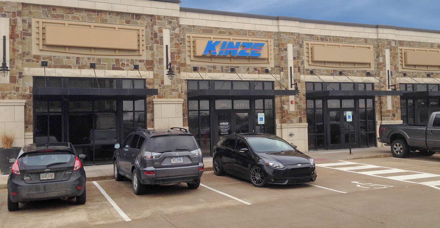 storefront location for Kinze tech innovation center