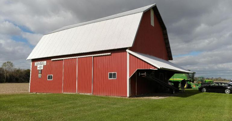 Trowbridge family farm barn
