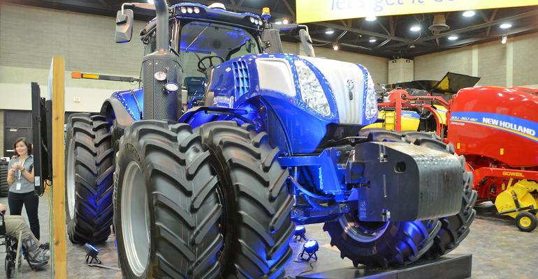 New Holland tractor with T8 Genesis PLM Intelligence