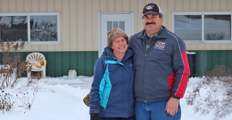 Marleen and Rick Adams, Master Agriculturist