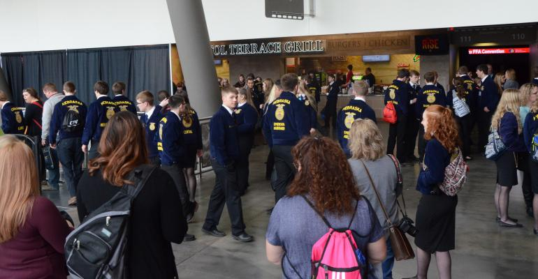 FFA members at convention
