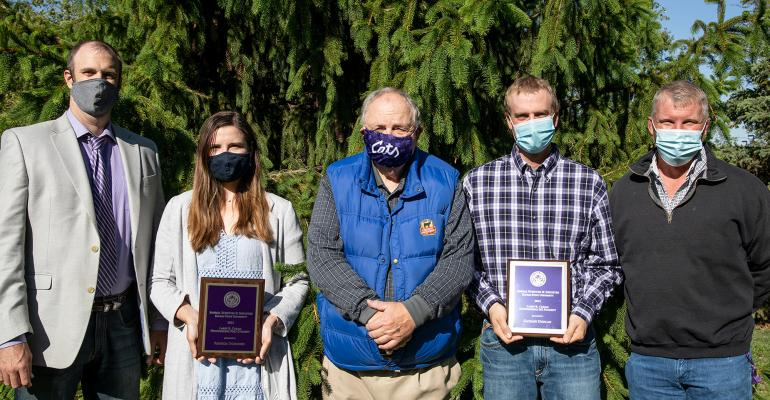 Kansas State University Department of Animal Sciences and Industry graduate students
