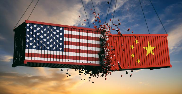 United States China tariff war