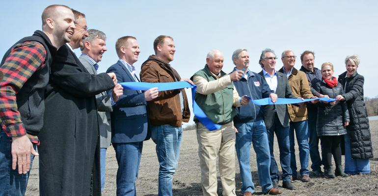 Sonny Perdue and developers cut the ribbon on Grand Farm in Fargo