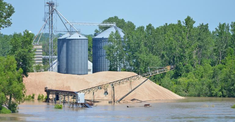 Howard/Cooper County Regional Port Authority facility flooded