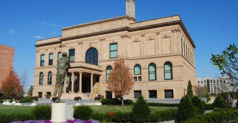 HALL OF LAUREATES: The internationally renowned World Food Prize and staff are headquartered in Des Moines, Iowa.