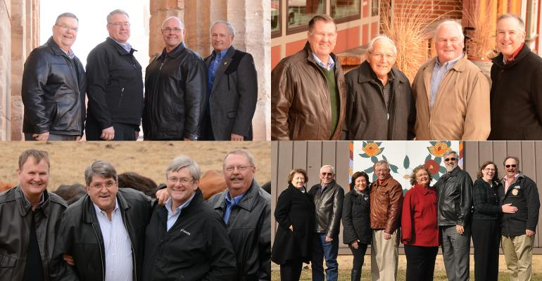 past Master Farmers collage