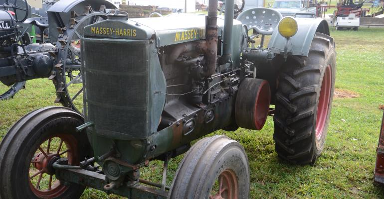 old Massey-Harris tractor