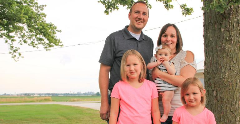 Jamin and Whitney Ringger with three daughters