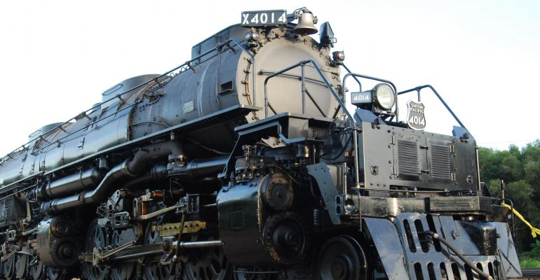 Big Boy train is the  heaviest steam locomotive ever built: the 772,250-pound engine and 436,500-pound