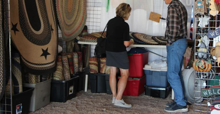 Items for sale at the Country Lifestyle market at Husker Harvest Days