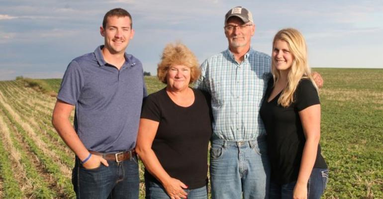 Eric and Darla Andersen, with son Kyle and daughter Megan