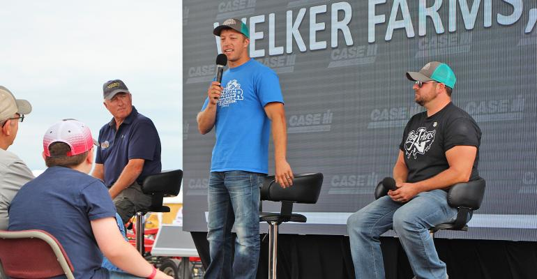 Welkers at Farm Progress Show