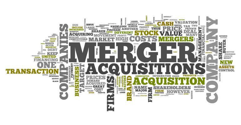 Merger acquisition word cloud of related tags