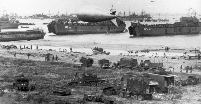 The invasion of Normandy,
