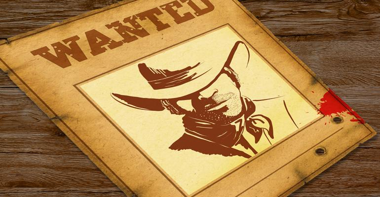 graphic of Old West wanted poster