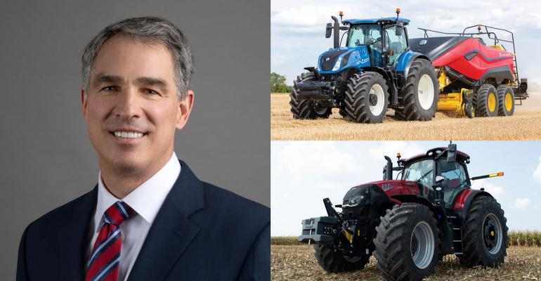 Scott Wine, CEO of CNH Industrial, Case IH and New Holland brands