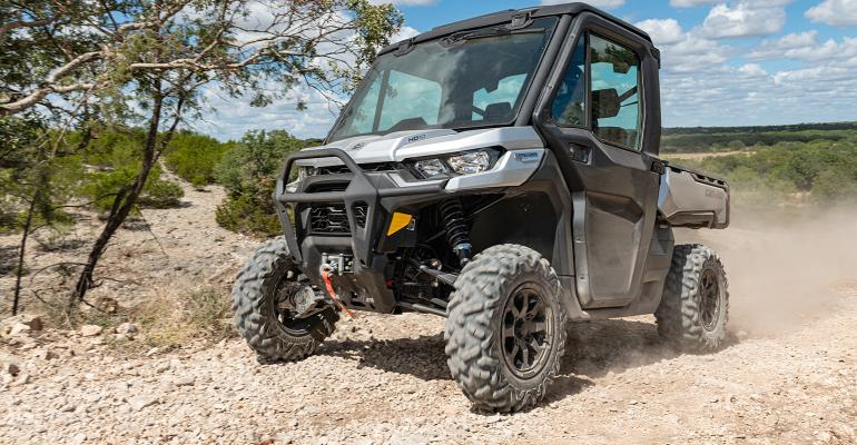 New Can-Am Defender Limited side-by-side