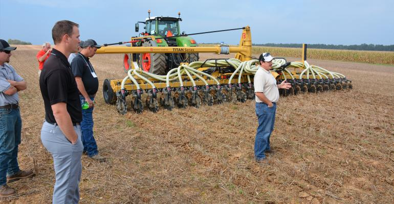 Jeff Zimmerman, owner of Agri-Applicators in Lebanon, Pa., talks about his experience using drag line manure hoses