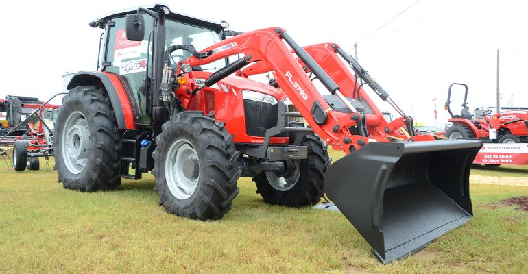 the 2020 Massey Ferguson 5700 Global Tractor