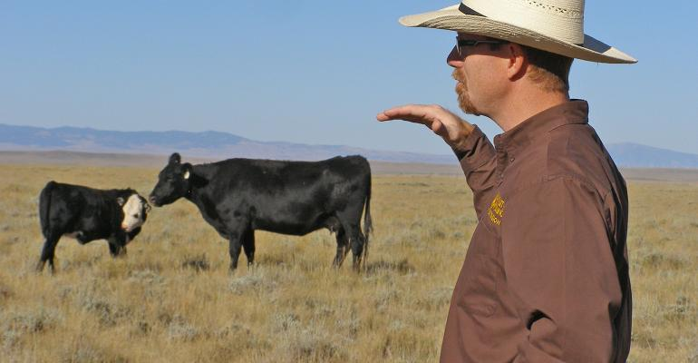 University of Wyoming Extension range specialist John Derek