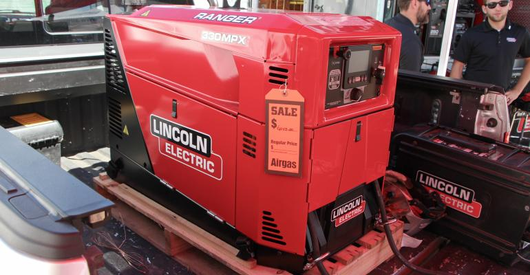 Lincoln Ranger 330 MPX welder