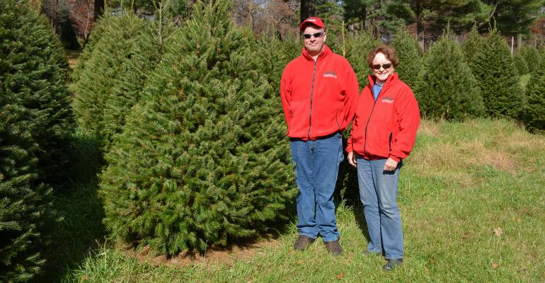 Andrew and Donna Cole, Cole's Country Tree Farm, Milford, N.J.