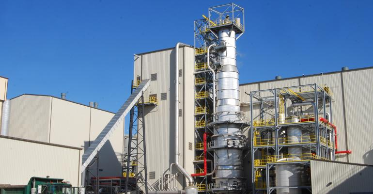 Emmetsburg, Iowa, cellulosic plant