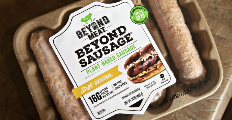 Beyond Meat Package of sausages