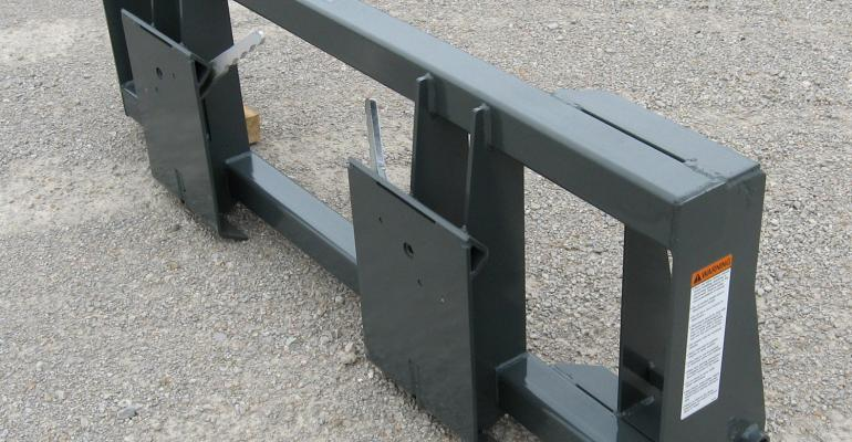 Adapters for Loaders on Bidirectional Tractors