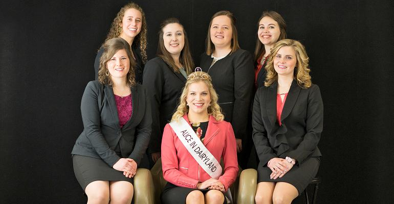 Candidates for the 71st Alice in Dairyland