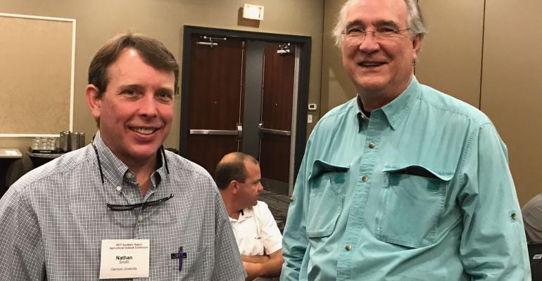 Bobby Coats and Nathan Smith at Southern Regional Economic Conference.