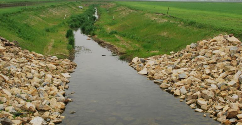 Bank On It   Two-Stage Drainage Ditches Reduce Erosion, Nutrient Runoff and Maintenance