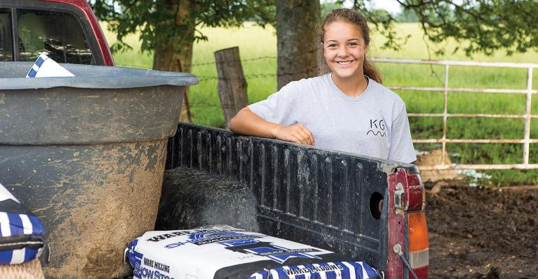 Will Rutherford's daughter, Emma Grace, is the fourth generation of the family to work at Kin Growers.