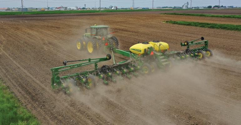 corn being planted