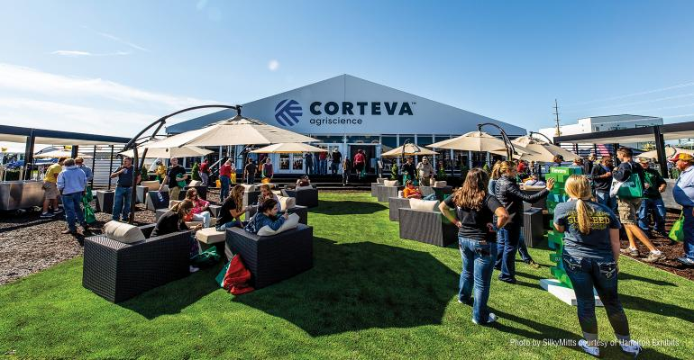 Corteva Agriscience exhibit at Farm Progress Show