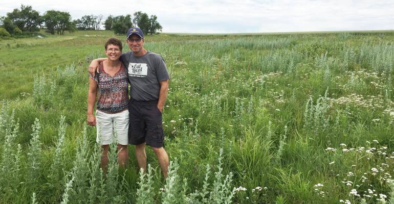 Lynnette and Gail Fuller, Kansas farmers, conservationists