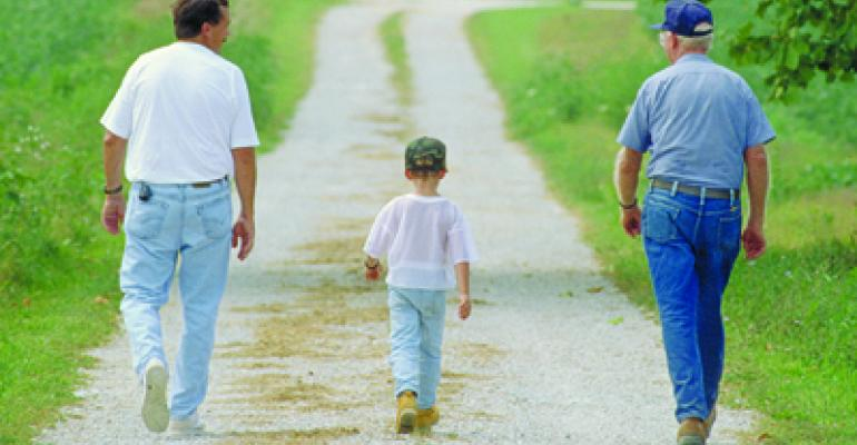Family living expenses are a problem for farmers